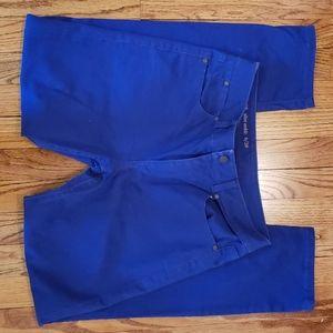 Talbots blue ankle jeans